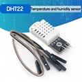 Цифровой модуль датчика температуры и влажности DHT22 AM2302 для Arduino, сменный SHT11 SHT15 с кабелями Dupont