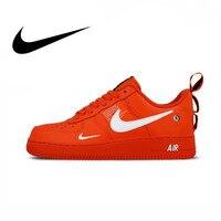 Nike Air Force 1 Af1 Original Men's Skateboarding Shoes Low Top Red Sport Outdoor Sneakers Athletic Designer Footwear AJ7747 800
