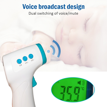 Forehead Thermometer Infrared Non-contact Fast Measurement Thermometer Gun Automatic Shutdown Backlight Display 32.0℃~42.9℃
