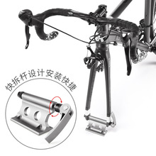 2020 Bike Fork Rack Holder Stand Portable Bike Front Fork Clamp For Car Travelling Riding Supplies Accessories For Bicycle