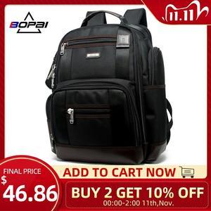 Image 1 - Americano famosa marca multi bolsos homens mochila grande capacidade fim de semana viagem de volta pacote de negócios dos homens super mochila masculino