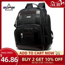 Mochila con múltiples bolsillos para hombre, famosa marca americana, gran capacidad, para viajes de fin de semana, bolso de negocios