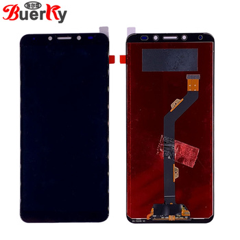 BKparts 5pcs/lot For Tecno LA7 LCD Display Touch Screen For Tecno Pouvoir 2 Pro LA7 LCD Digitizer Complete Assembly Replacement