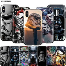 Webbedepp Star Wars Art Case for Apple iPhone 11 Pro XS Max XR X 8 7 6 6S Plus 5 5S SE(China)