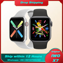 3 uds IWO X7 reloj inteligente de serie 6 Bluetooth llamada smartwatch ritmo cardíaco rastreador de Fitness Smartwatch para Android IOS PK W26 T500 HW12