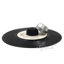 Adaptador de centro de alumínio contínuo durável do adaptador 45 rpm para o vinil do registro de 7 polegadas ep