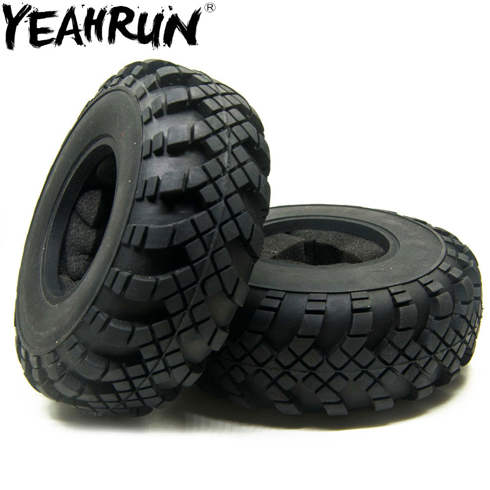 YEAHRUN <font><b>2.2</b></font> Beadlock Wheels 40mm <font><b>Tires</b></font> tyre For 1/10 <font><b>RC</b></font> <font><b>Crawler</b></font> Axial Wraith TRX-4 #2 image