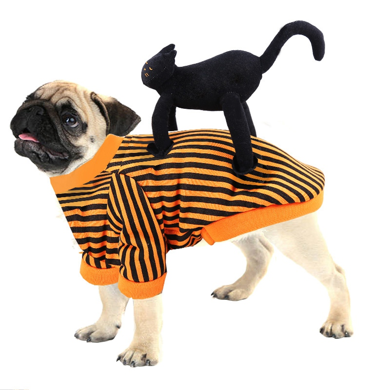 Pet Dog Cat Costumes Halloween Pet Clothes Dressing up Jacket Coats For Dog Cat Rider Style Clothes Winter Dog Coat Clothing|Dog Coats & Jackets|   - AliExpress