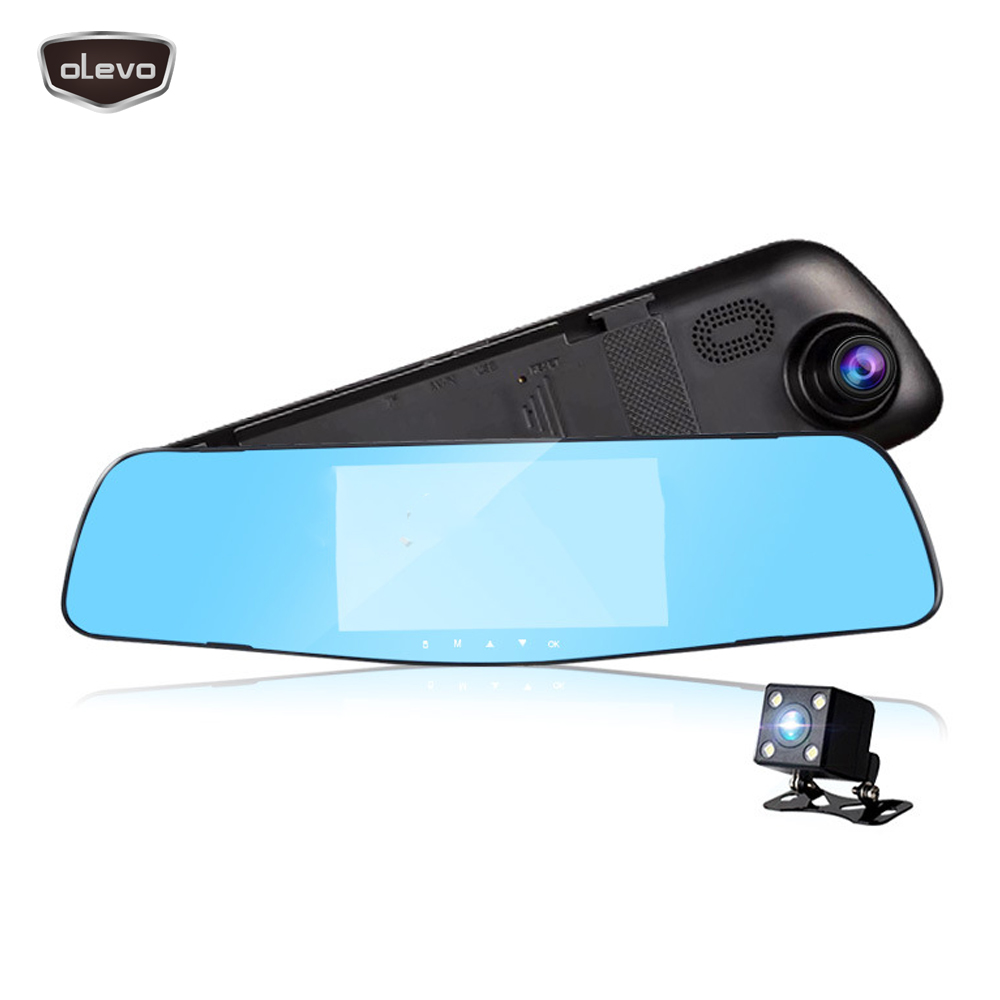 Car Dvrs Dash Cam Dvr Mirror DVR Full HD 1080P Car Camera Dual Lens Video Recorder Night Vision G-sensor Rearview Back Mirror