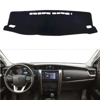 For Toyota Fortuner SW4 2016 2017 2018 Dashboard Cover Mat Pad Dash Sun Shade Instrument Carpet Protect Car Styling Accessories image