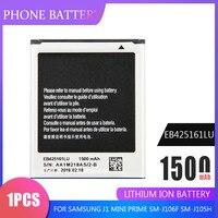 1PCS de la batería del teléfono EB425161LU para Samsung J1 Mini primer SM-J106F SM-J105H S7562 S7560 S7566 S7568 S7572 S7580 i8190 I8160 S7582