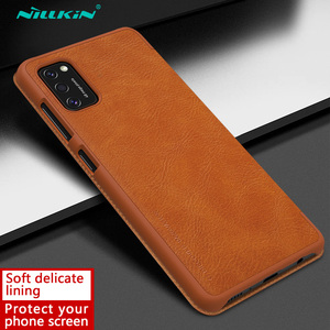 Image 2 - Nillkin Qin Book Flip Leather Case Cover For Samsung Galaxy A41