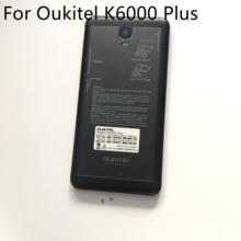 "Oukitel K6000 Plus غلاف بطارية مستعمل غلاف خلفي + كاميرا عدسة زجاجية + مسامير لهاتف Oukitel K6000 Plus MTK6750T 5.5"""