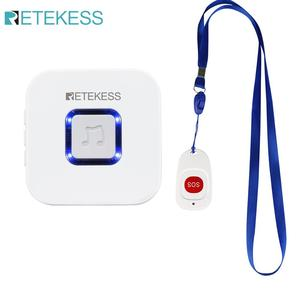 Image 2 - Retekess Wireless Caregiver Pager SOS Call Button Nurse Calling Alert Patient Help System