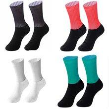 Носки для велосипедной команды Aero бесшовные нескользящие носки для велоспорта носки для шоссейного велосипеда Компрессионные спортивные ...