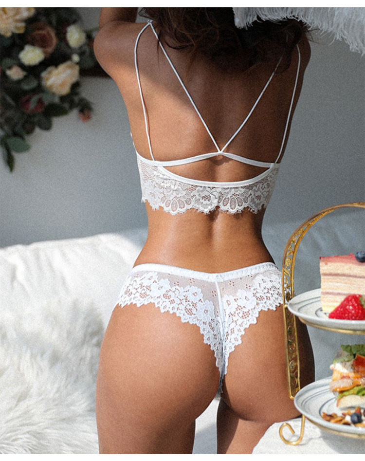 Sexy Lace Thong Panties Female Underwear for Women Seamless Mini G String Hollow Breathable Low Rise Briefs Brazilian Lingerie