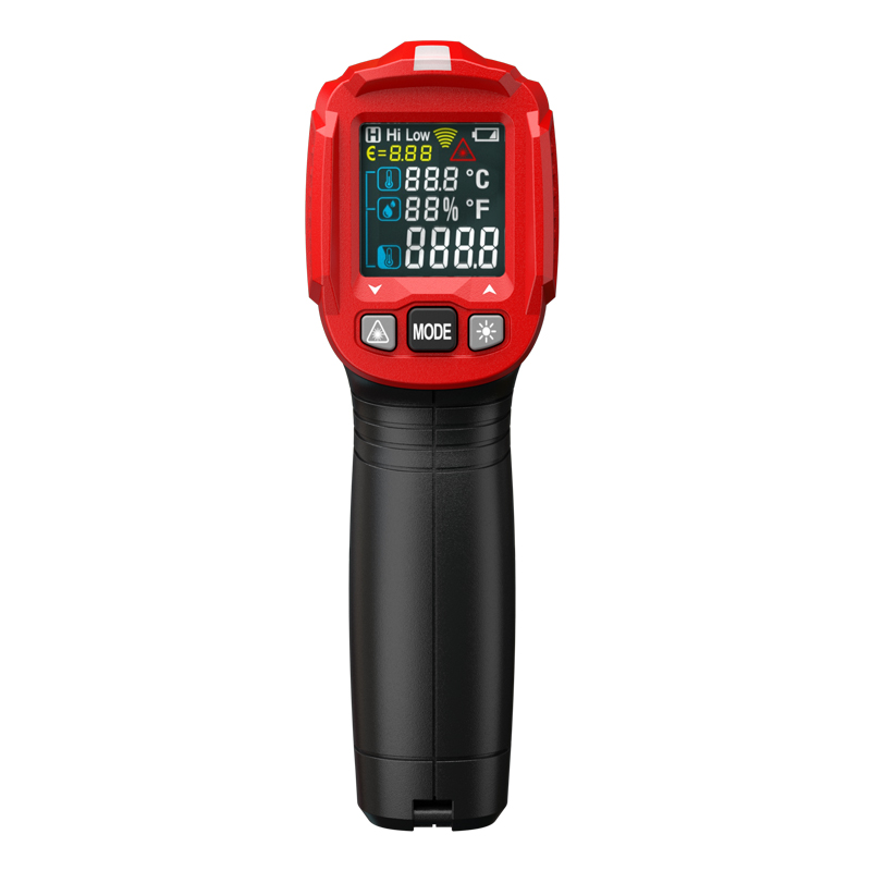 Image 3 - Habotest HT650C температура влажности измерительный гигрометр  цифровой термометр инфракрасный лазерный термометр метеостанцияПриборы  для измерения температуры   -
