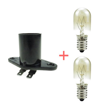 E14 Base Microwave Light Bulb Lamp Spare Parts For Microwave Oven Accessories
