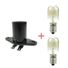 E14 baz mikrodalga ampul lamba yedek parçaları mikrodalga fırın aksesuarları