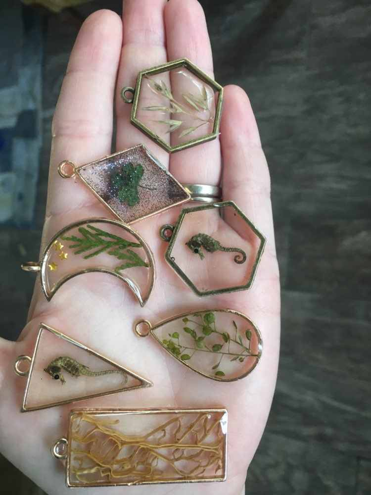 10 Pcs 28*32 Mm Warna Paduan Perhiasan Aksesoris Circular Pesona Hollow Lem Kosong Liontin Tray Bezel 12C38