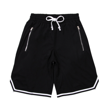 Men Gym Fitness Bodybuilding Short Pants Summer Thin Male Basketball Stripe Training Casual Shorts Running Sport Shorts Men Jogging Pants Men Sportswear Men Sportswear Men Swimwear Men Workout Shorts Running & Yoga Running Shorts Sporting Goods Sports & Entertainment Sports and Outdoor Color: NEW Black Size: L