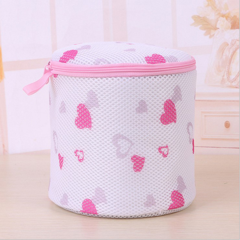 Wen xiong dai Protective Laundry Bag Sub Pack of 2 Wash Underwear Use a Laundry Bag String Bag Washing Machine Bra Qing Laundry|Vegetable Washers| |  - title=