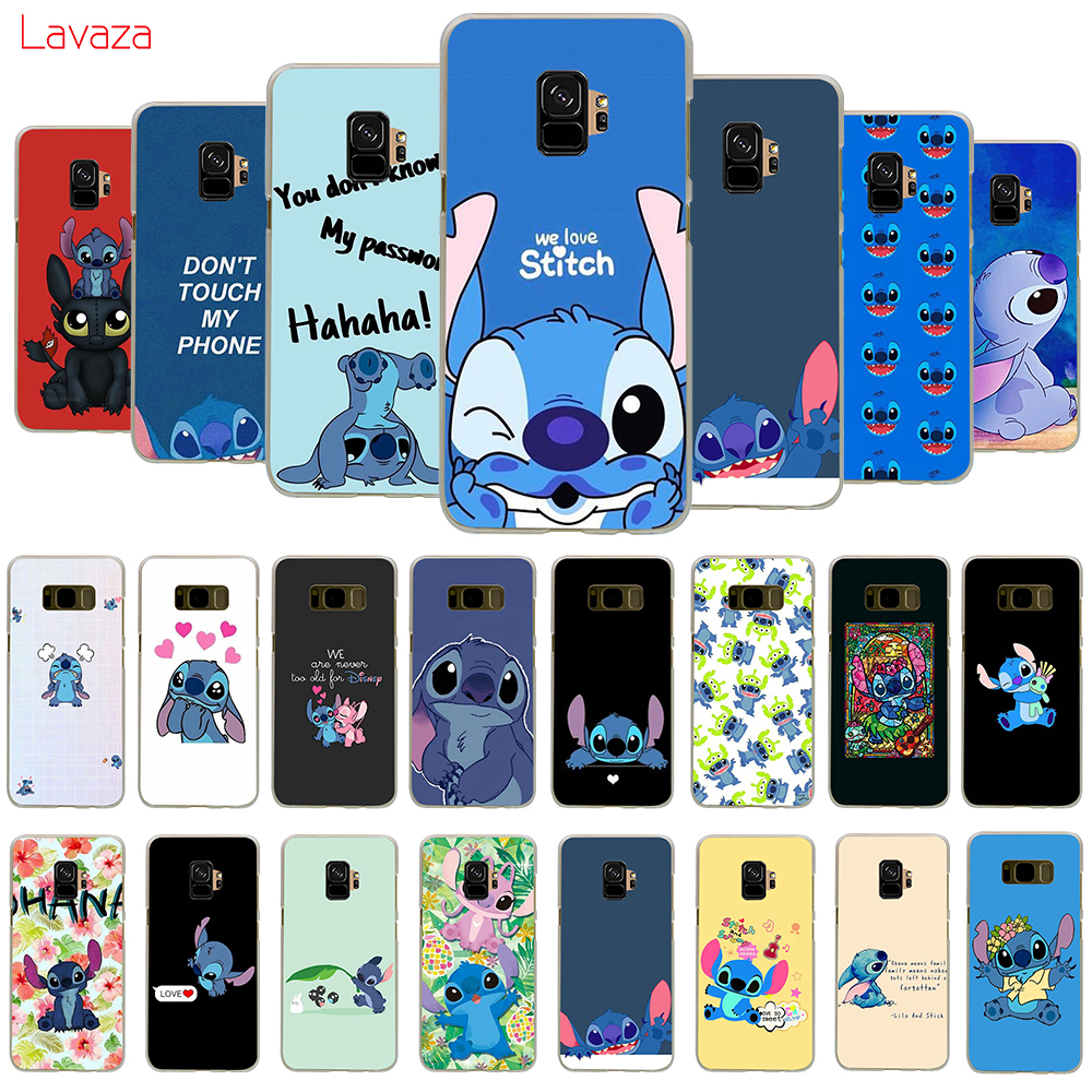 <font><b>Cute</b></font> Cartoon Lilo Stitch Hard <font><b>Case</b></font> for <font><b>Samsung</b></font> <font><b>Galaxy</b></font> J4 J6 Plus Prime Core J7 Duo J8 A2 Core A20e <font><b>A70s</b></font> Cover image