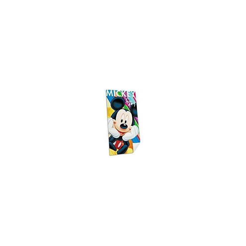 Beach Towel Mickey 140x70 Cm Toy Store