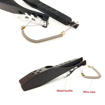 Mini Fishing Grip ABS Plastic Controller Fish Clip Lock Switch Tightening Holder Gripper Lure Fishing Tool Tackle фото