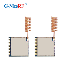2 pçs/lote alta receber sensibilidade ( 121 dbm) si4463 incorporado 868 mhz fsk rf módulo rf4463pro para receptor de controle remoto