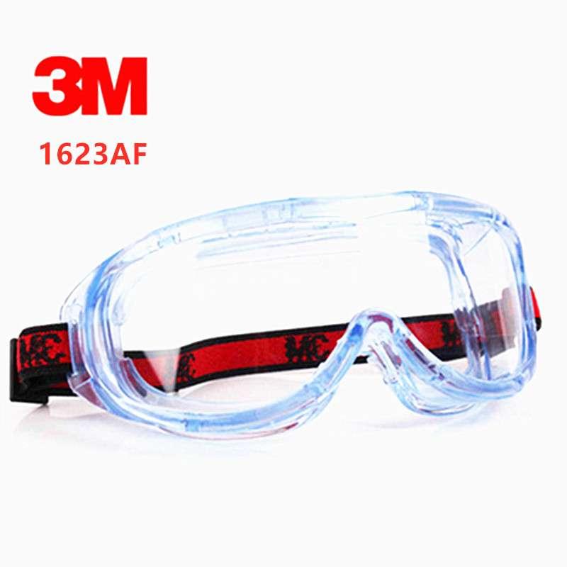 Gafas protectoras 3M 1623AF, gran visión química, gafas de seguridad antiniebla, Anti-UV, antisalpicaduras, gafas de seguridad para el trabajo 9D para huawei P30 Lite P30Lite P 30 protector de pantalla de luz vidrio templado para huawei p20 lite pro p20lite p10 vidrio protector