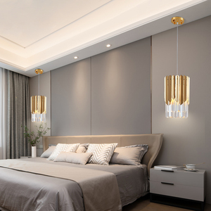 Image 5 - Small Round Gold k9 Crystal Modern Led Chandelier for Living Room Kitchen Dining Room Bedroom Bedside Luxury Indoor Lighting