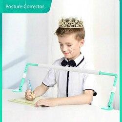Corrector de postura antimiopía dispositivo de corrección de escritorio Anti-joroba escuela niños escritura ajustable Corrector de postura positiva