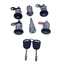 95VB22050FG Bonnet Hood Release Lock Repair Kit For Ford Transit MK4 MK5 1992-2000 Car Accessories Auto Replacement Parts(China)