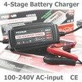 12V 5A 4-х ступенчатый салона автомобиля Батарея Зарядное устройство Desulfator сопровождающий для автомобиля на солнечной батарее Системы свинцо...