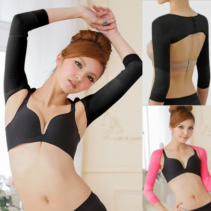 Women Arm Warmers Shaper Correct Posture Humpback Prevent Girdle Shapewear