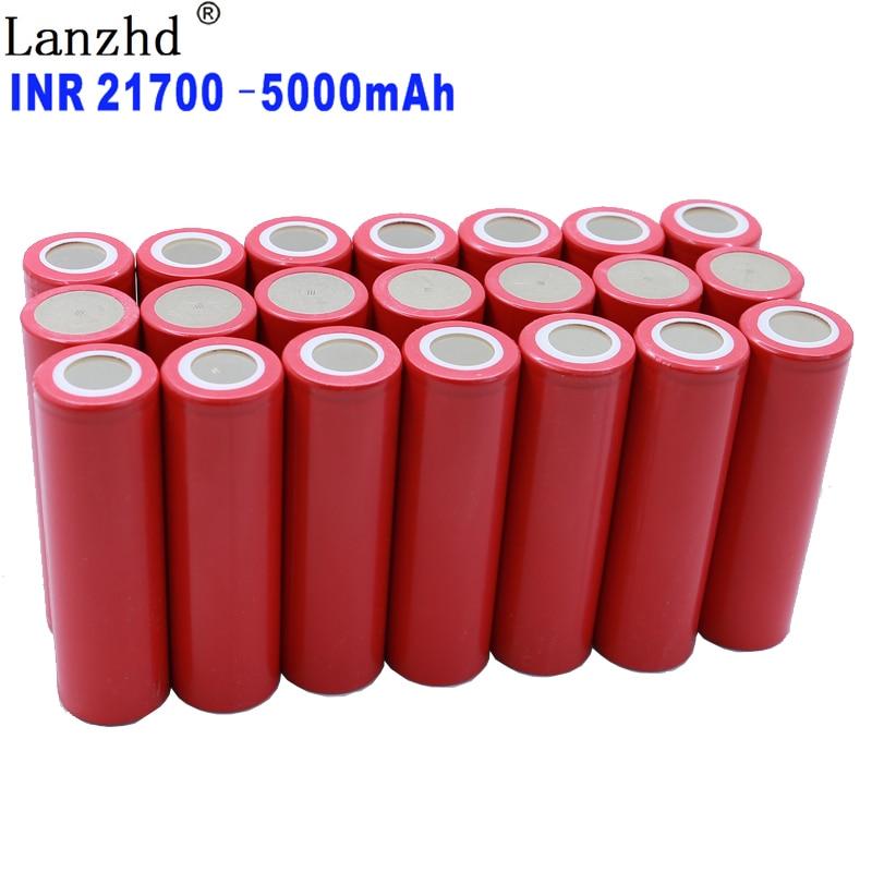8 24 шт 21700 перезаряжаемая батарея 5000mAh литий ионные батареи 3,7 V 5C батарея питания для электромобиля|Перезаряжаемые батареи|   | АлиЭкспресс