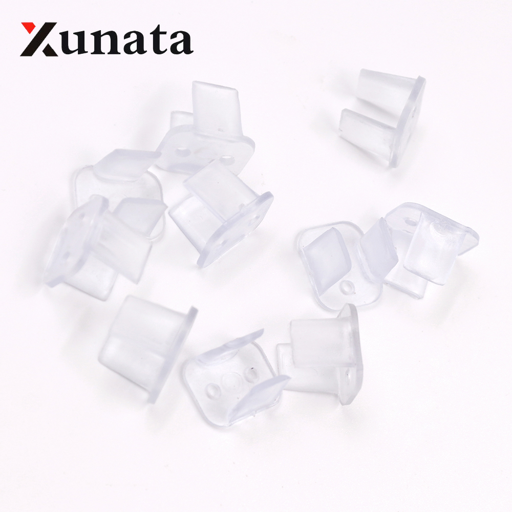 Silicone Mounting Bracket Clip Fastener for Fixing 6x12mm Neon LED Strip Light