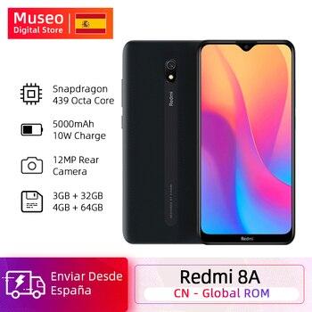 Купить Глобальная версия Xiaomi Redmi 8A 8 A 2 ГБ 32 ГБ 6,22 дюймВосьмиядерный Snapdargon 439 мобильный телефон 5000 мАч 12MP камера смартфон