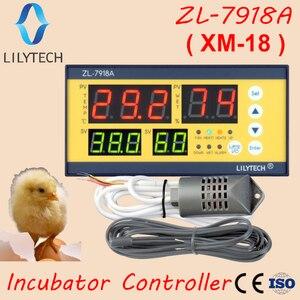 Image 1 - Xm 18, ZL 7918A, controlador da incubadora de ovos, controlador automático da umidade da temperatura multifuncional, 100 240vac, ce, iso, lilytech, xm 18