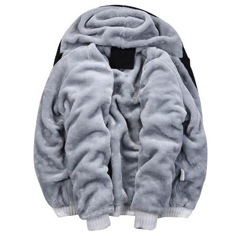 Image 5 - Winter Trainingspakken Mannen Set Casual Thicken Fleece Warm  Hooded Jas Broek Lente Sweatshirt Sportkleding Jassen Hoodie  TrainiMens Sets