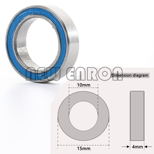Image 5 - Bearing 13 Blue Ball Bearing KIT 21PCS Metric Rubber Sealed on Two Sides FIT FOR RC Traxxas Slash 4x4 Stampede Chrome Steel