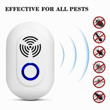 frequency conversion Mosquito Killer Pest Control repellents Ultrasound electric Insect Rats Spiders killer safe for kids pets