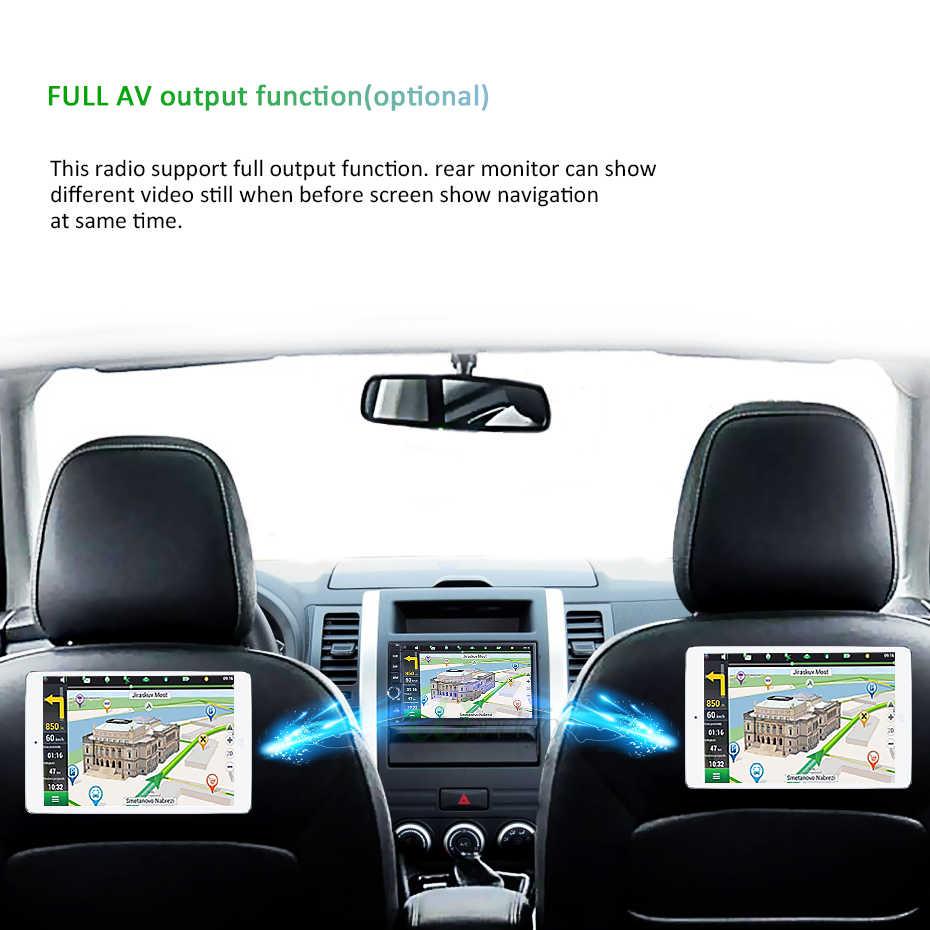 DSP 2 DIN Android 9.0 4G RAM 64G Rom DVD Ô Tô Cho Mitsubishi Outlander 2013-2016 Pajero định Vị GPS Đài Phát Thanh Đa Phương Tiện Điều Hướng Stereo Máy Tính