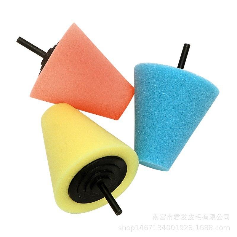 Buffing Pad Caring Polisher Foam Sponge Polishing Cone Shaped Car Automotive