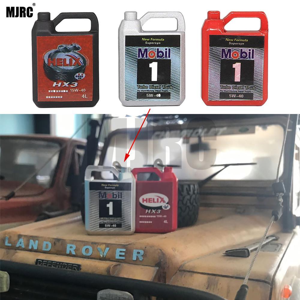 MJRC Simulation Metal Engine Oil Barrel For 1/10 RC Crawler Car TRX4 Defender Bronco RC4WD D90 D110 Axial Scx10 90046 RR10 TRX-4