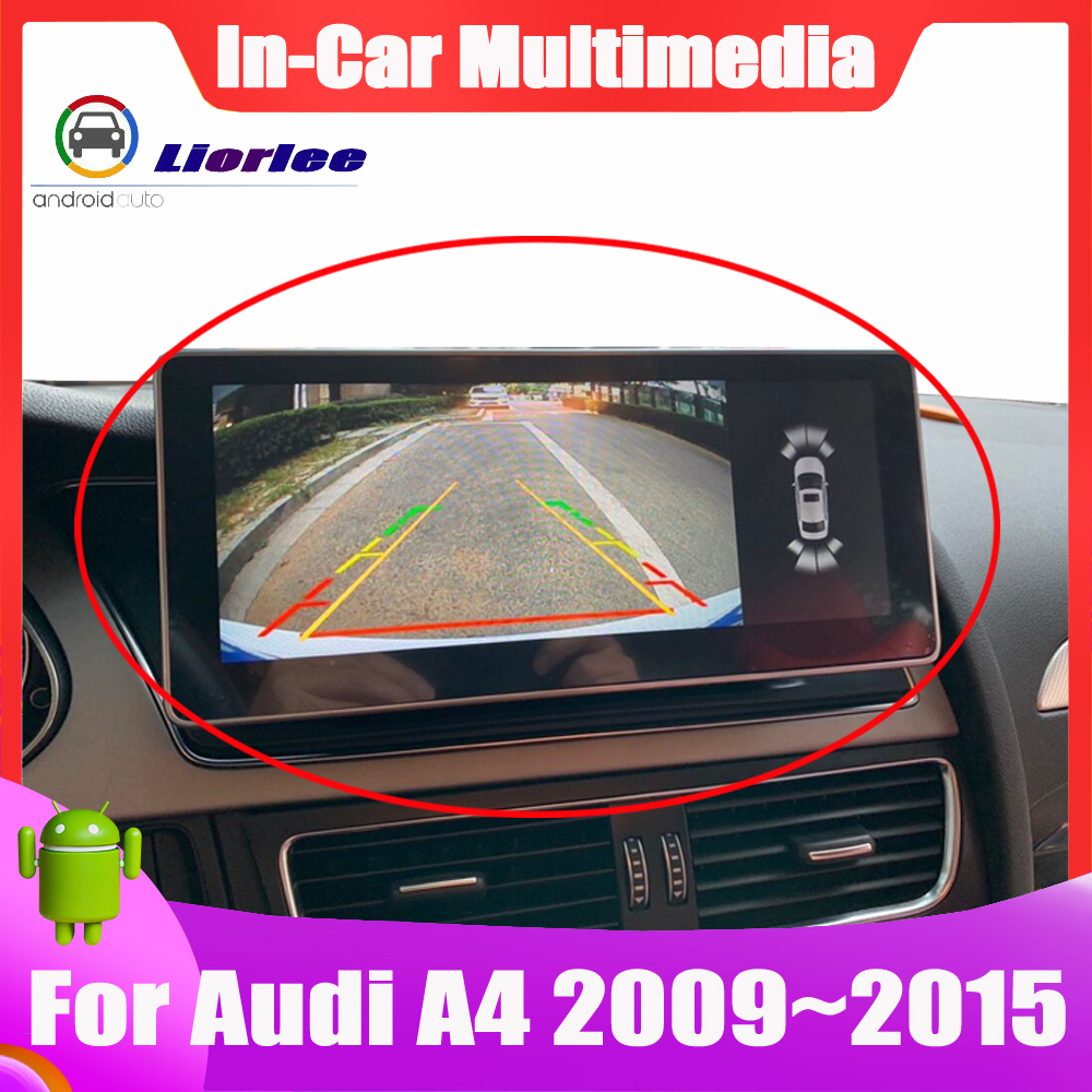 Android update Car Multimedia player System For <font><b>Audi</b></font> <font><b>A4</b></font> 2009~2015 touch screen GPS Navigation Bluetooth image