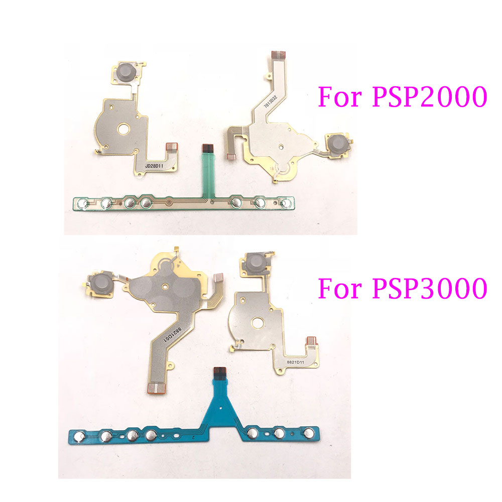 For PSP2000 Buttons Controllers Ribon Flex Cable For Playstation PSP 3000 & 095 Left Right D Pad Volume Ribbon
