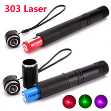 532nm high power green laser 303 pointer indicator ultra long radiation distance laser pointer 18650 battery charger combination