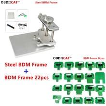 Cadre BDM métallique LED, ensemble complet dadaptateurs de sonde BDM, cadre KTAG/KESS/KTM/Dimsport, cadre ECU LED en acier, livraison gratuite par DHL